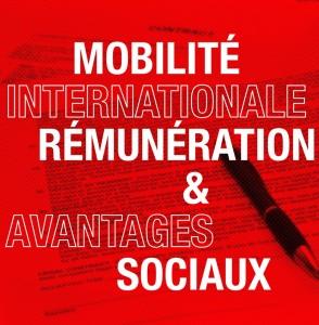 Mobilité internationale rémunération avantages sociaux